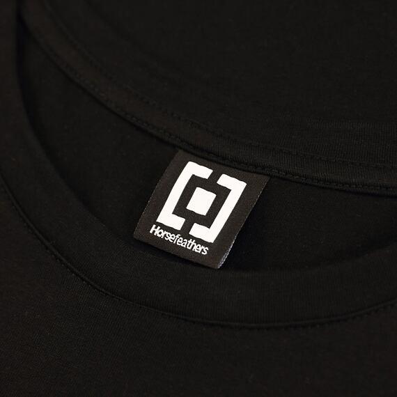 Horsefeathers šaty Kim black - label