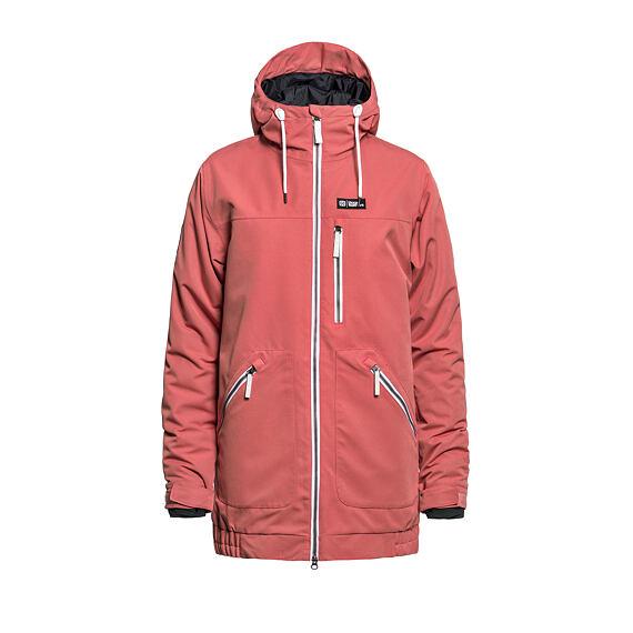 Ingrid jacket - spiced coral