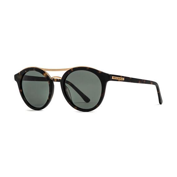 Sluneční brýle Horsefeathers Nomad - matt havana/green