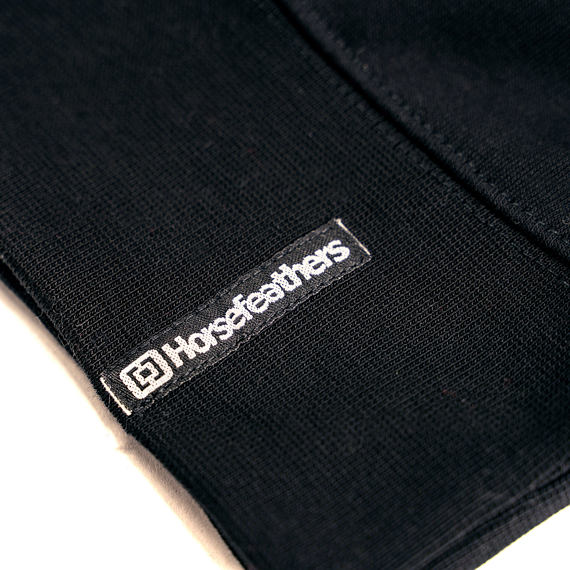 Horsefeathers mikina Leader - label