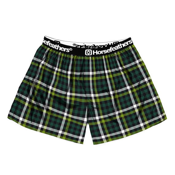 Clay boxer shorts - pine