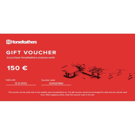 Gift voucher 150 €