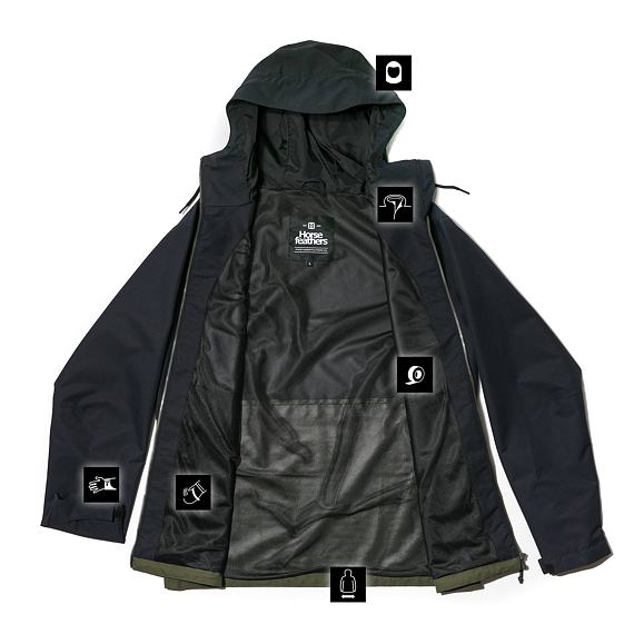 Horsefeathers Closter jacket - olive