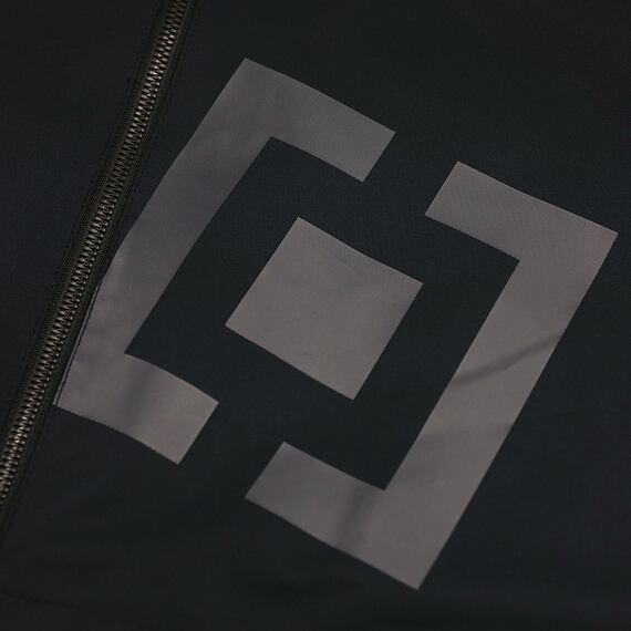 Horsefeathers jarní bunda Closter black - logo
