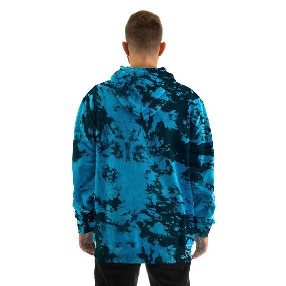 Horsefeathers mikina Joshua blue tie dye