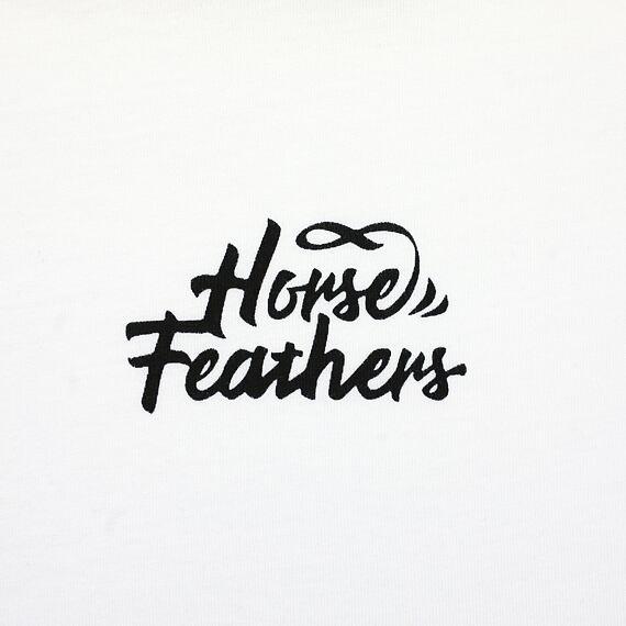 Horsefeathers top Birdie rose red - potisk