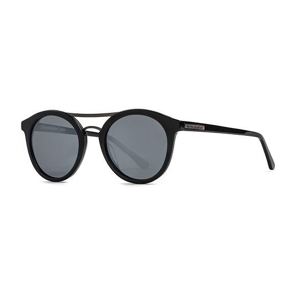 Sluneční brýle Horsefeathers Nomad - gloss black/mirror white