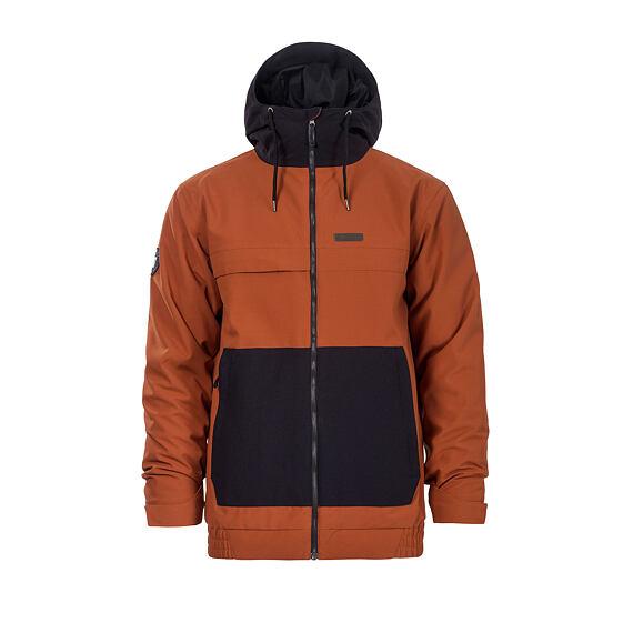Willis jacket - brick