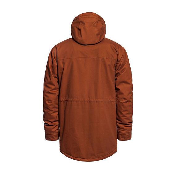 Horsefeathers zateplená bunda Preston - leather brown