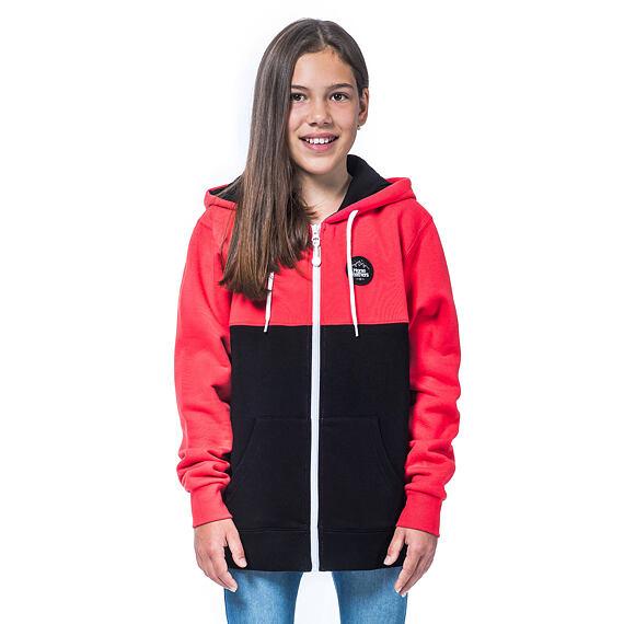 Olive Youth hoodie - azalea