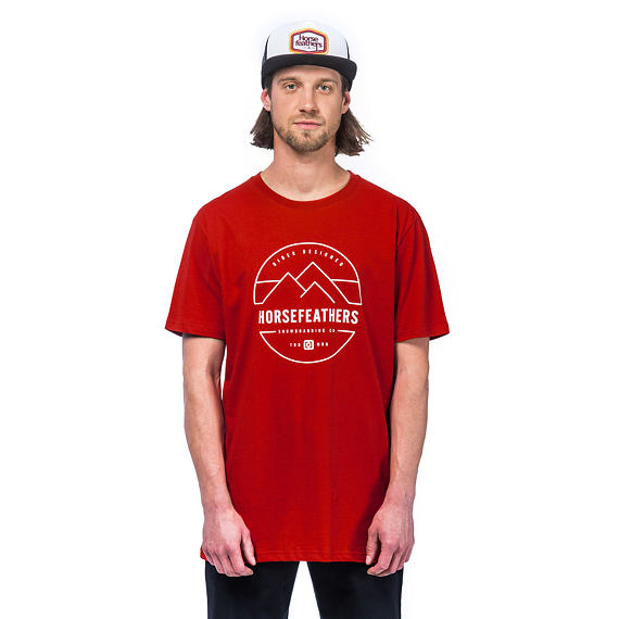 Trent SS t-shirt - red