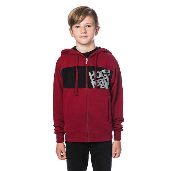 Rounder Youth hoodie - rio red