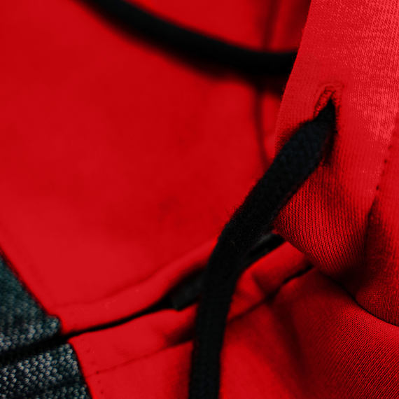 Trevor Youth hoodie - red