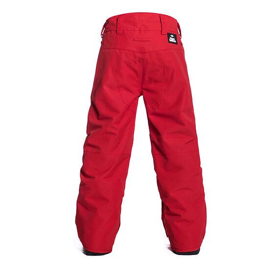 Horsefeathers dětské snowboardové kalhoty Spire Youth - red