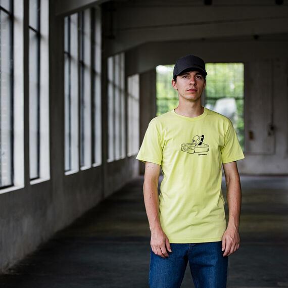 Butter t-shirt - lemon grass