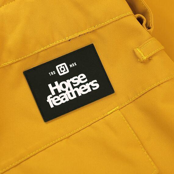Horsefeathers snowboardové kalhoty Charger - label