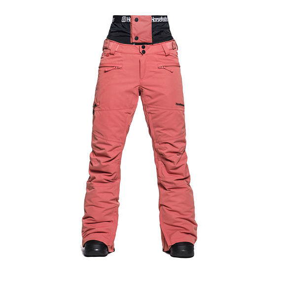 Lotte 15 pants - spiced coral