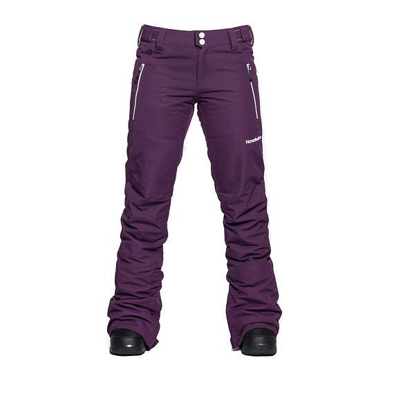 Horsefeathers dámské snowboardové kalhoty Avril - grape