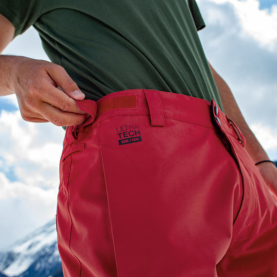 Spire pants - red