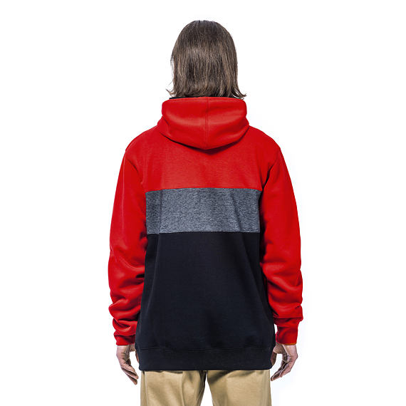 Riggs hoodie - red