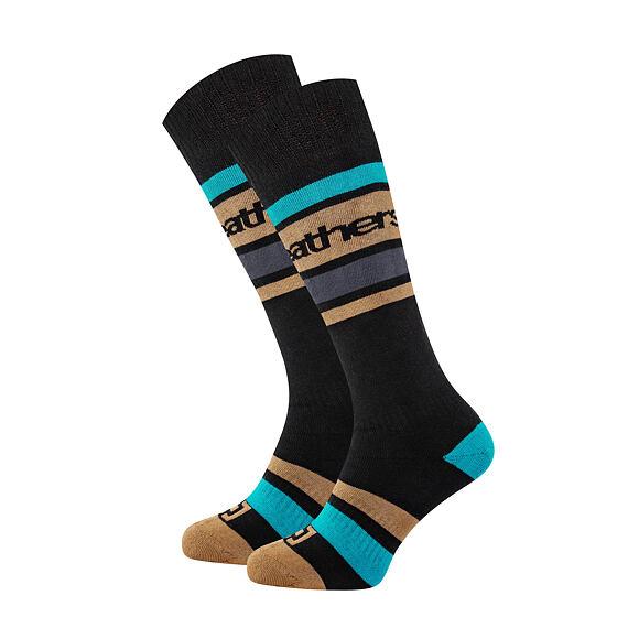 Mace snowboard socks - black