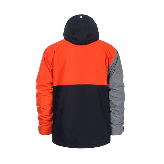 Wright jacket - red orange