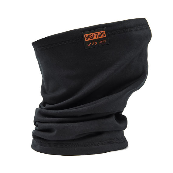 Neck Warmer atrip - black