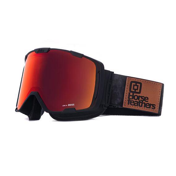 HF x Melon Optics Parker goggles - gray camo/red chrome