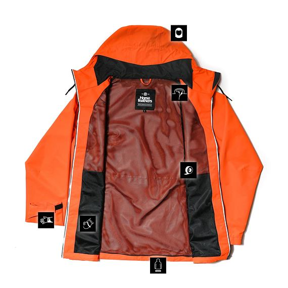 Horsefeathers Closter jacket - flame