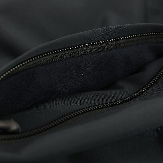 Horsefeathers jarní bunda Closter black - kapsa