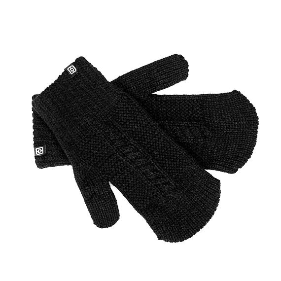 Dani mittens - black