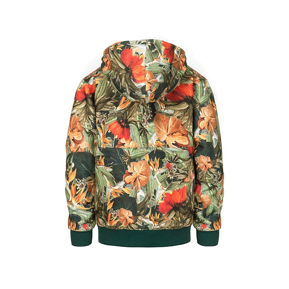 Adeline Youth hoodie - jungle