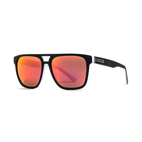 Sluneční brýle Horsefeathers Trigger - matt black/mirror red