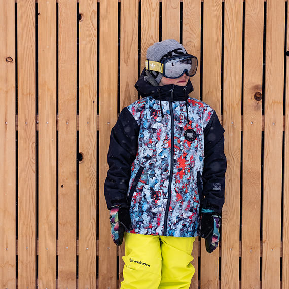 Atoll Youth jacket - painter