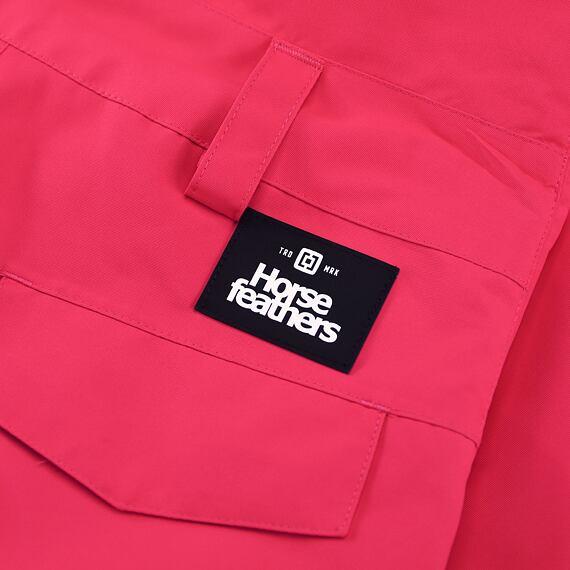 Horsefeathers dětské snowboardové laclové kalhoty Madler Youth - label