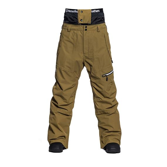 Nelson pants - dull gold