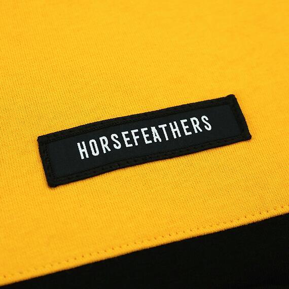 Horsefeathers mikina Murphy citrus - label