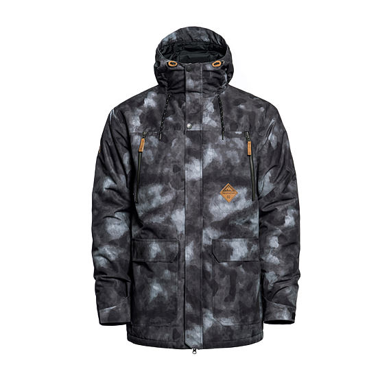 Horsefeathers bunda Thorn - gray camo