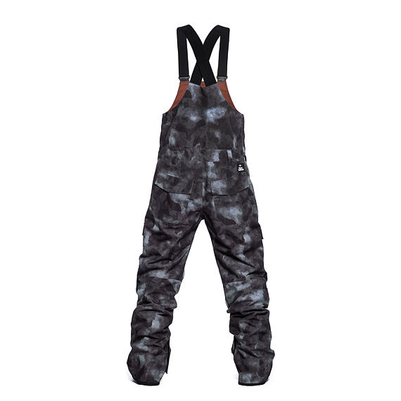 Horsefeathers snowboardové laclové kalhoty Madler - gray camo