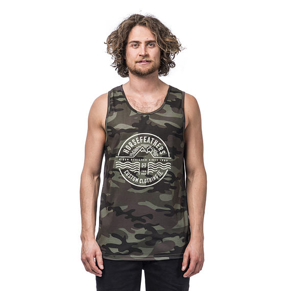 Vale tank top - woodland