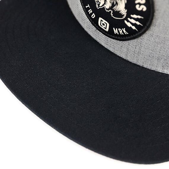Harper Youth cap - heather gray